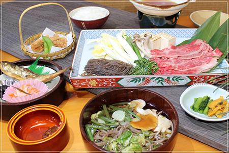 C和牛鍋定食 2700円(税込)