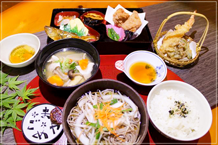 C定食 2160円(税込)