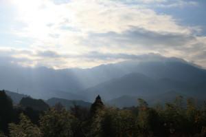 天の光は 観光 中山道 馬籠 妻籠 恵那山 2