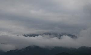 まぼろしの雪山1 恵那山