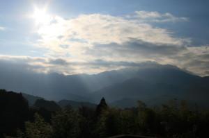天の光は 観光 中山道 馬籠 妻籠 恵那山 3