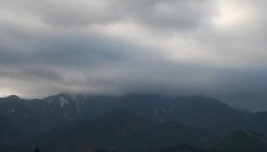 まぼろしの雪山2 天照大神