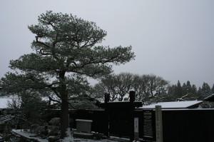 雪景色 中山道 木曽路 馬籠 妻籠 3