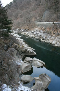 木曽の棧 信州  japan history magome gifu 3